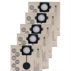 83133 B8K Оригинальные бумажные мешки-пылесборники для пылесоса MAKITA 440, 448, 3510, до 25 л, (комплект 5 шт.)