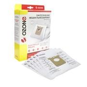 M-02 Мешки-пылесборники одноразовые синтетические, 5 шт, для пылесосов ELECTROLUX, AEG, PHILIPS, TORNADO, VOLTA, ZANUSSI
