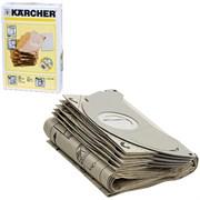 6.904-143.0 Мешки для сбора пыли KARCHER, комплект 5 шт., бумажные, +1 микрофильтр, для пылесоса KARCHER