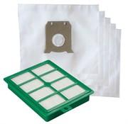 K-02 Комплект мешков и HEPA-фильтра для пылесоса AEG, ELECTROLUX, PHILIPS