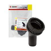 UN-3932 Щетка для пылесоса с коротким синтетическим ворсом Ozone для жестких поверхностей, под трубку 32 мм