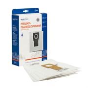 Мешки пылесборники для пылесоса THOMAS, 4 шт., синтетические, многослойные, повышенной фильтрации, бренд: EUROCLEAN, арт. E-09/4